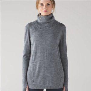 Lululemon Sweat And Savasana Sweater Sz 12